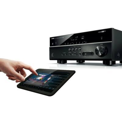 Yamaha MusicCast HTR-4071 5.1 házimozi erősítő