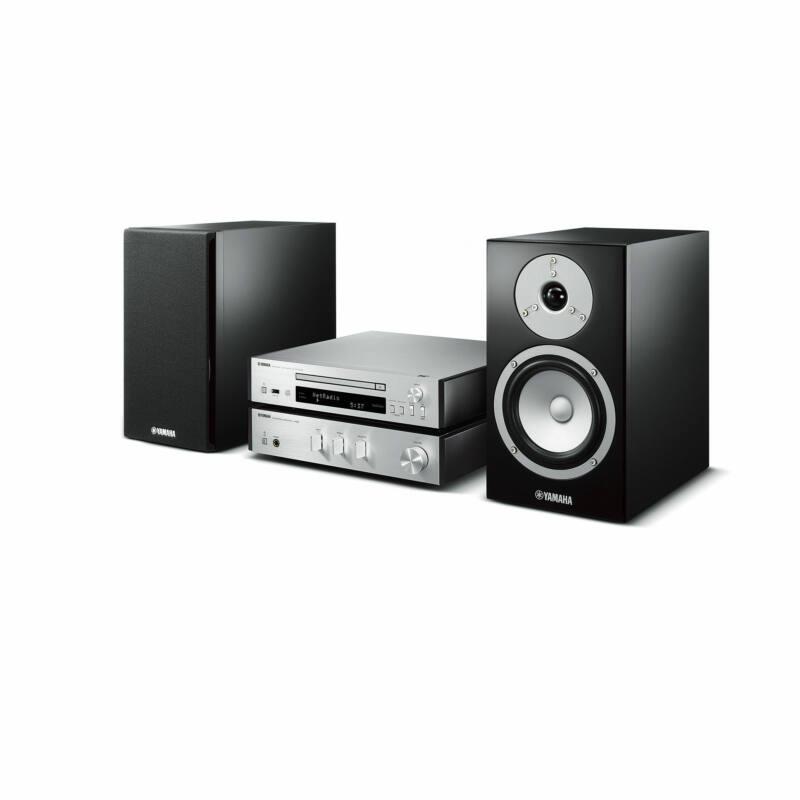 Yamaha MCR-N670 Mikro Hi-Fi MusicCast, ezüst-fekete