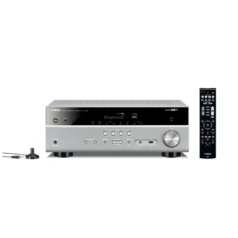 Yamaha MusicCast RX-V483 5.1 házimozi erősítő, titán