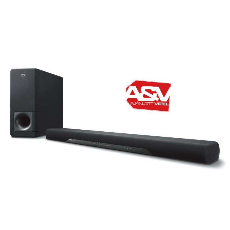 Yamaha YAS-207 DTS Virtual:X Soundbar fekete