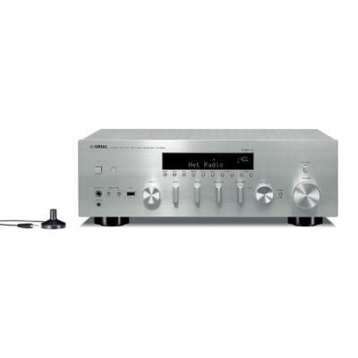 Yamaha R-N803D sztereó hálózati rádióerősítő MusicCast, ezüst