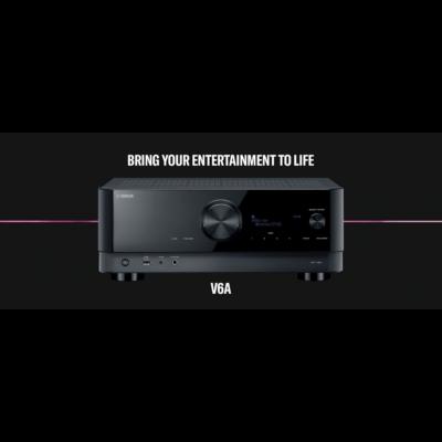 Yamaha RX-V6A 7.2 házimozi erősítő, fekete