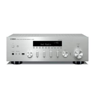 Yamaha R-N602 sztereó hálózati rádióerősítő MusicCast, ezüst