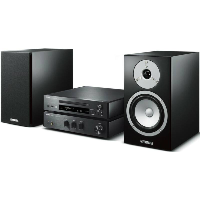 Yamaha MCR-N670D Mikro Hi-Fi DAB+ MusicCast, fekete-fekete