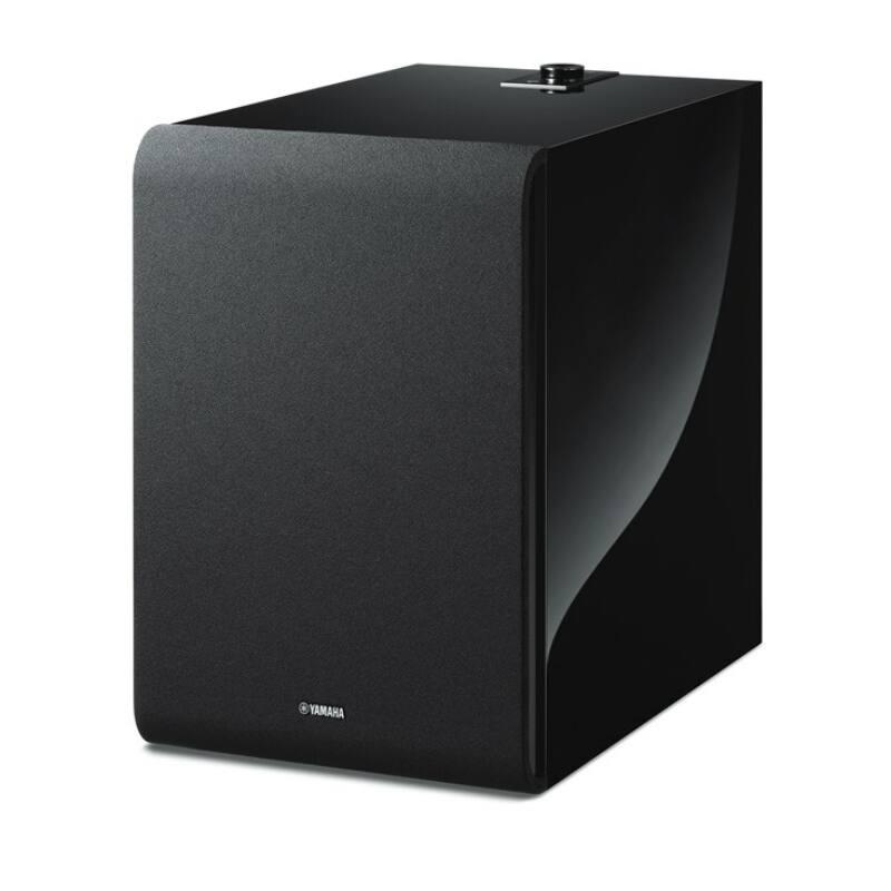 Yamaha MusicCast SUB 100 mélysugárzó, (NS-NSW100) fekete