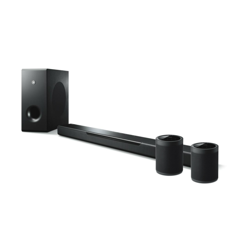 Yamaha MusicCast Bar 400 hangprojektor (YAS-408)+ 2db MusicCast 20 (WX021) szett